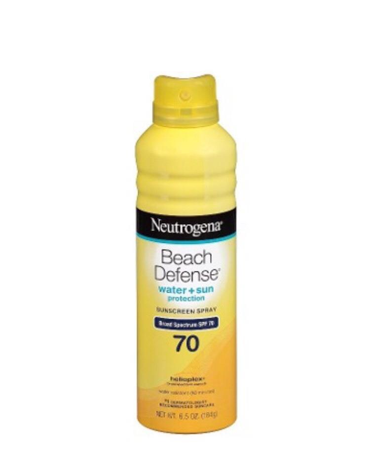 b047724a1 Protetor Solar Neutrogena Beach Defense Spray+bastão Frt Gra - R ...