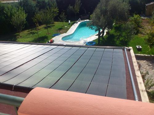 solar pileta climatizador