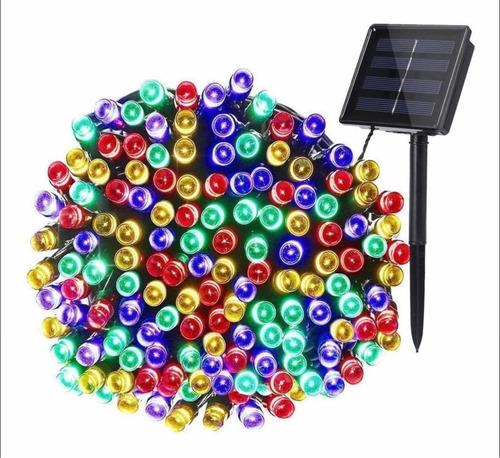 solares 100 led multicolor set de 3