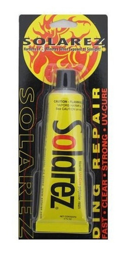 solarez resina reparo pranchas 15g - revenda oficial*