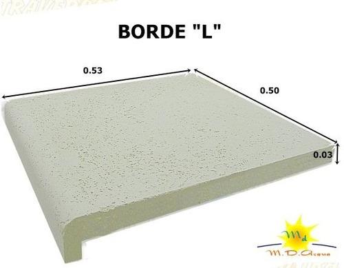 solarium y bordes atermicos y antideslizantes para piscinas