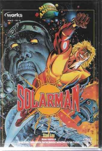 solarman baseado na obra de stan lee dvd original
