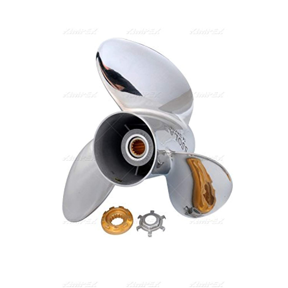SOLAS Amita 3 Blade Aluminum 15 Dia X 15 Pitch SR