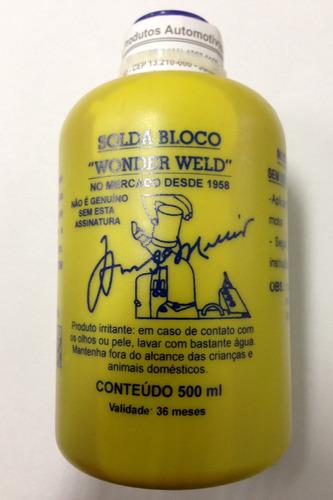 solda bloco  wonder weld  500ml