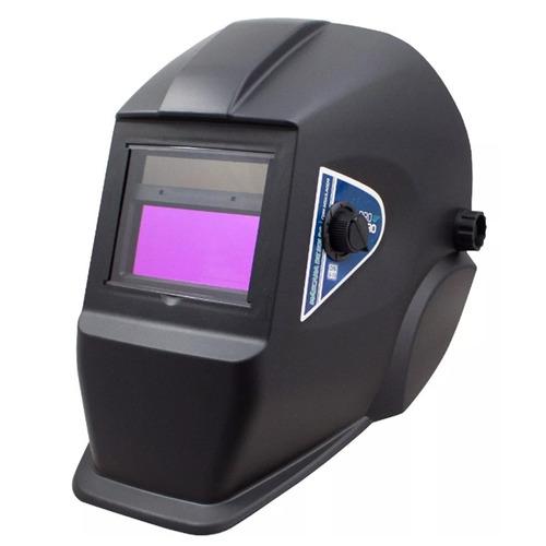 solda inversora 155a 110v + máscara + 250g eletrodo 2,5mm