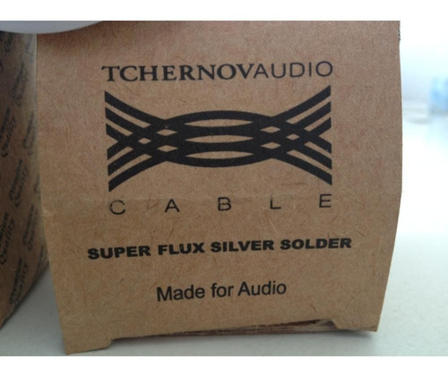 solda premium tchernov cable sfs/ag 0,8mm prata - metro
