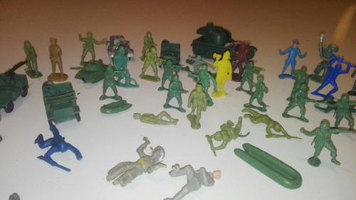 soldaditos de plástico de los años 70