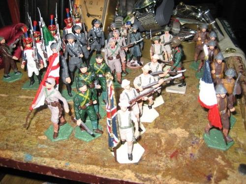 soldaditos soldados de plomo figuras