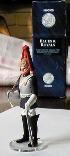 soldado blues & royals marca corgi