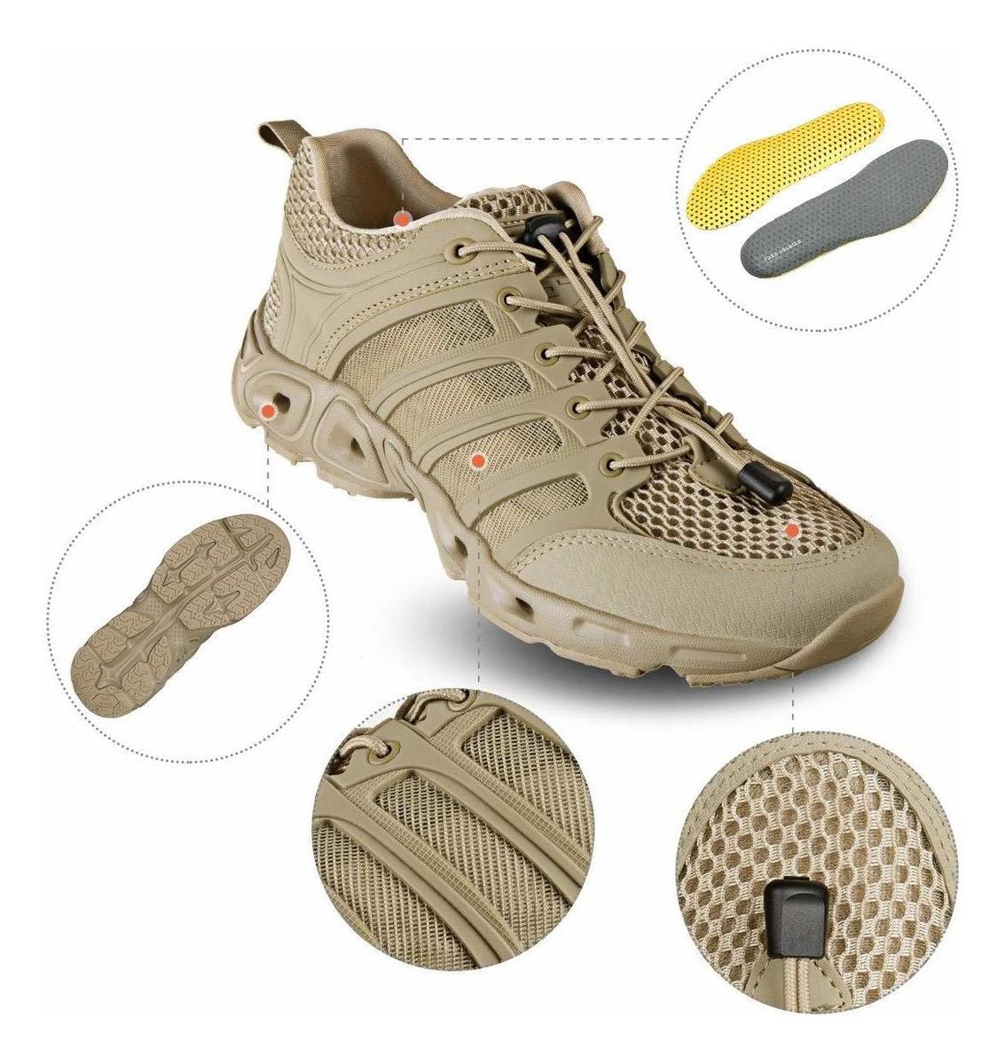 suela antideslizante y calzado transpirable Zapatos de senderismo escalada y otros deporte para hombre FREE SOLDIER