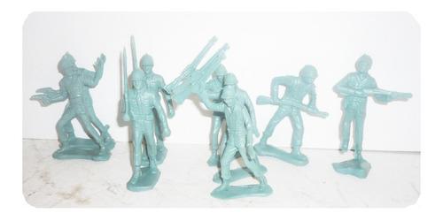 soldado militar paquete con 18 - soldadito de juguete escala
