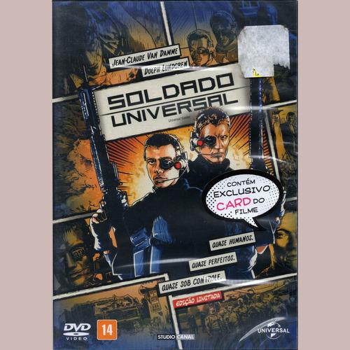 soldado universal edición especial - dvd - comic book!