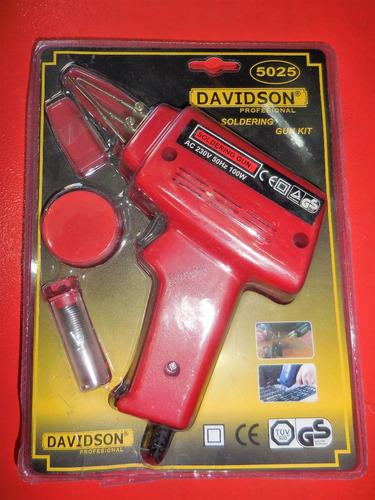 soldador 220v de tipo pistola 100w