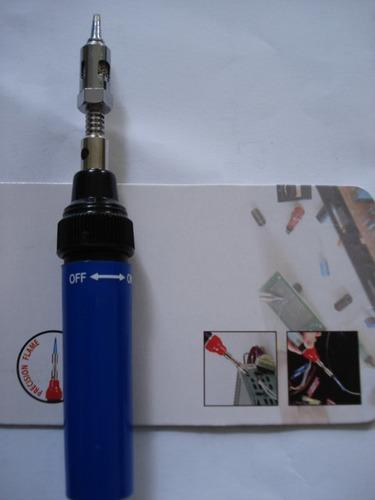 soldador  a  gas inalambri,2  en uno soplete y  electronico