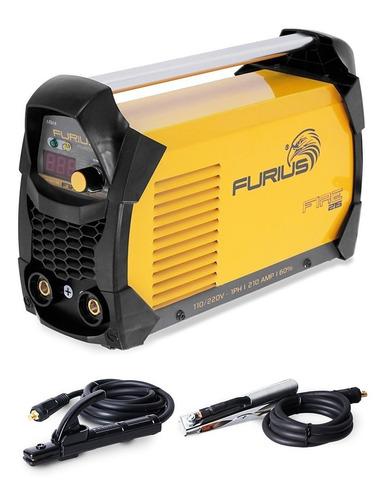 soldador inversor furius fire 215, 210 amperios 110/220 v