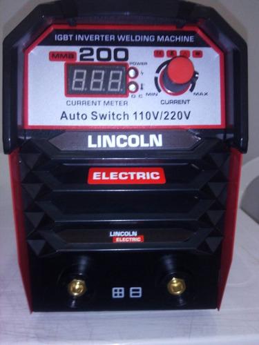 soldador inversor lincoln 200 amperios digital