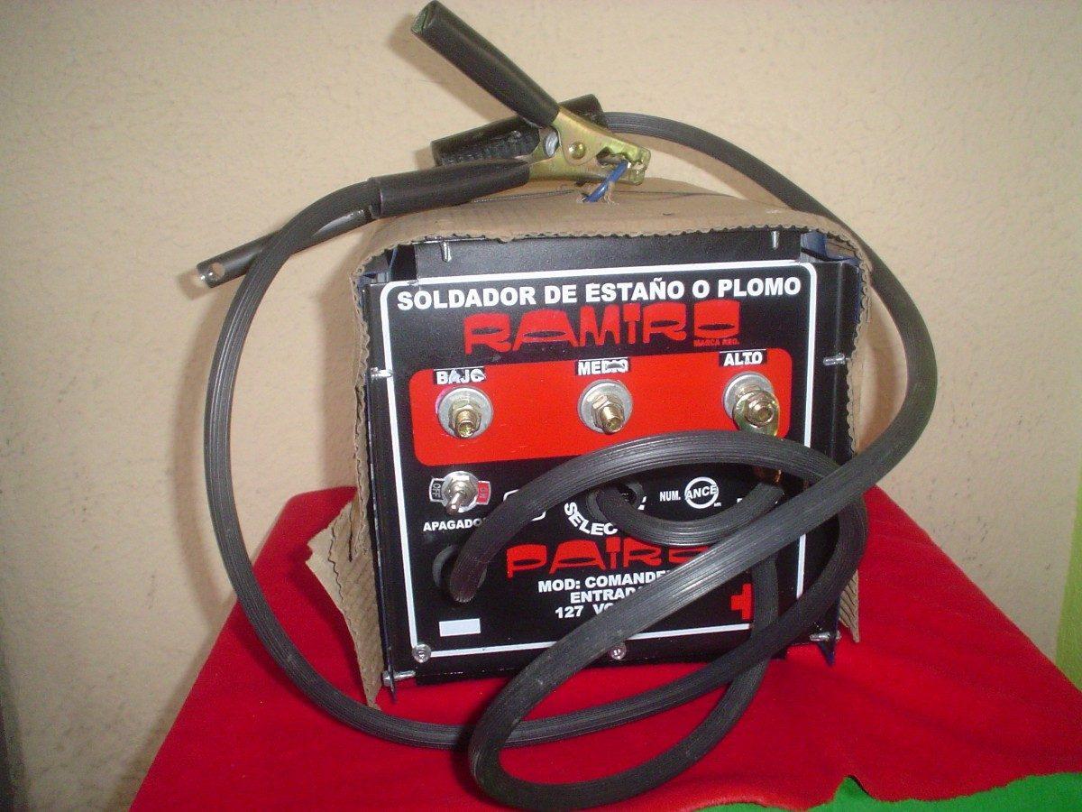 Soldador pairo para plomo esta o 3 c marchas s electrico - Soldador electrico estano ...