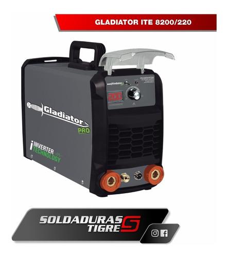 soldador tig gladiator ite 8200