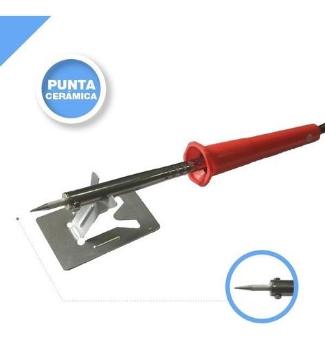 soldador tubular 60 watts interelec 9803 - 60w, garantia