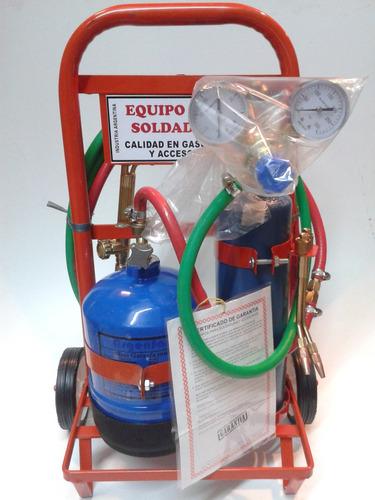soldadora 1/4 oxigeno autógena.oferta sc refrigeracion