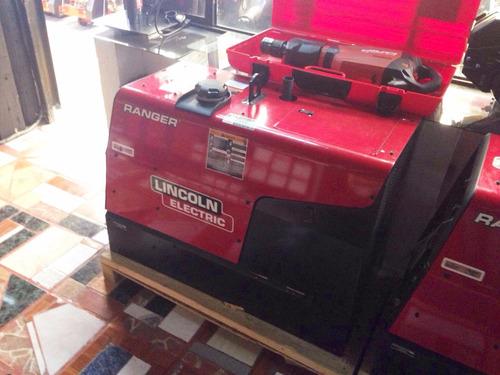 soldadora con generador integrado marca lincoln mod 250gxt