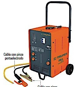 soldadora corriente alterna 250 amp uso industrial ligero