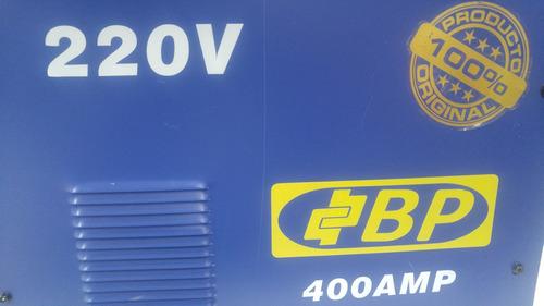 soldadora de 400 amp invertron 220 voltios 60hz bp/102944