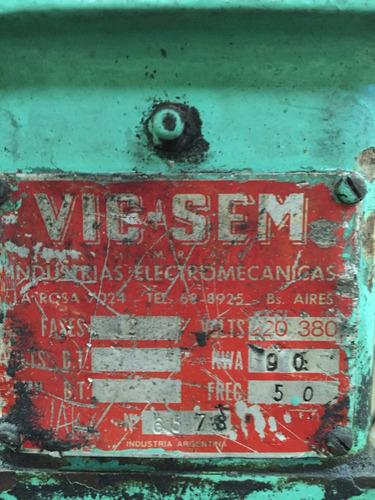 soldadora de proyección/punto vic sem 90kva c/controlador