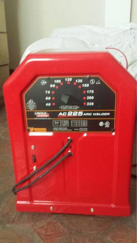soldadora de varilla lincoln electric ac225 nueva