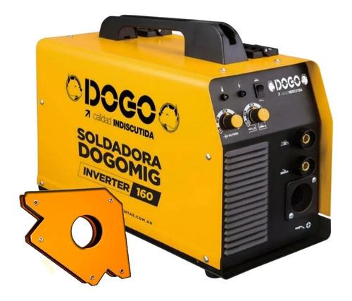 soldadora dual mig electrodo inverter dogo 160 amp escuadra