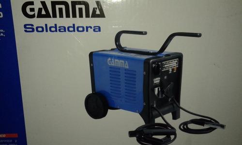 soldadora eléctrica gamma turbo 220 de 180 amperes