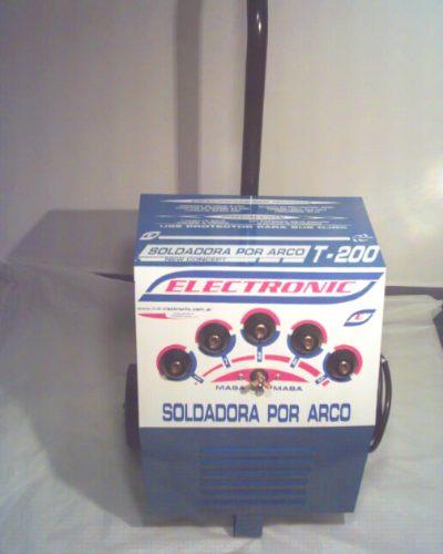 soldadora electrica200amp carrito uso prof-produccion cobre