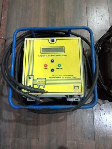 soldadora electrofusora  (pead) 2 x 100.000