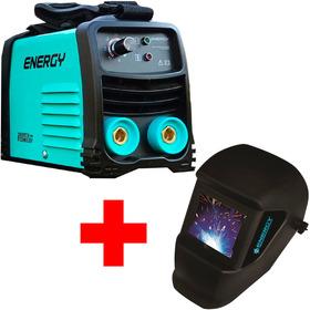 Soldadora Energy Inverter 140amp + Careta Soldar G P