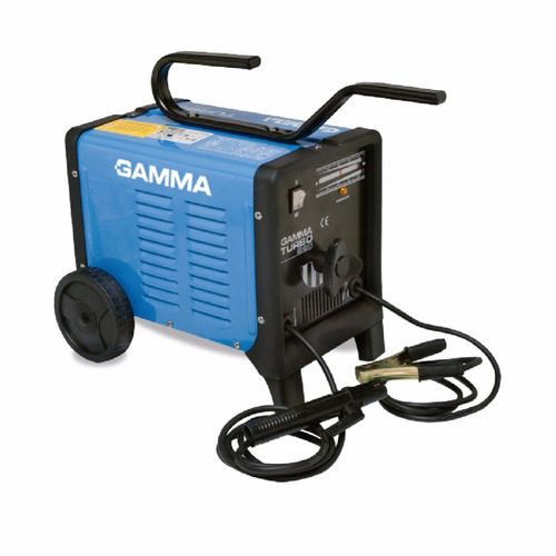 soldadora gamma 3466g turbo 220 monofásica 50/180 a ce