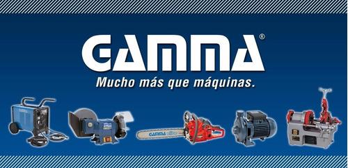 soldadora gamma turbo 220 50 180 amp ventilada
