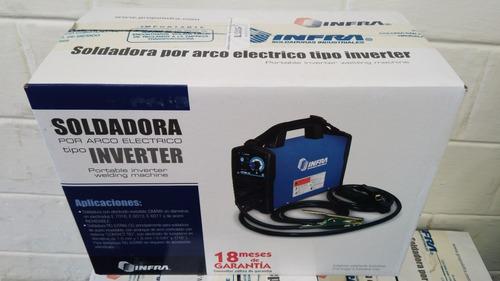 soldadora infra miller 110 - 220 voltios modelo arctron 160