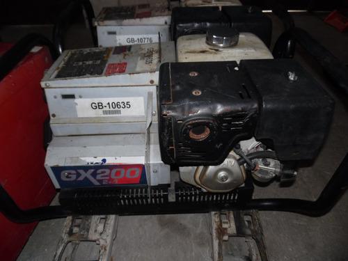 soldadora inversora   honda gx200 4+2  gasolina
