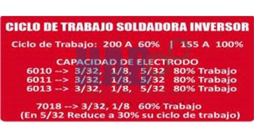 soldadora inversora portátil 110/220v + careta electronica