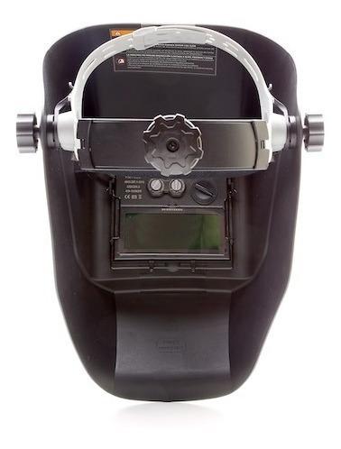 soldadora inverter 100 con mascara careta fotosensible corte