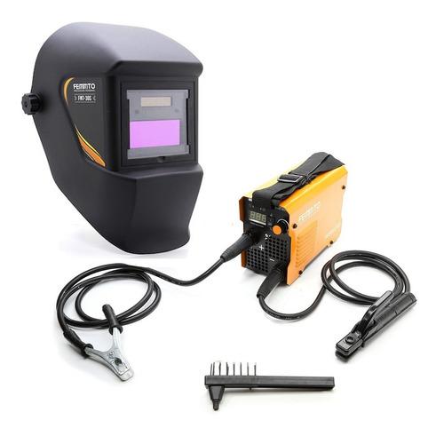 soldadora inverter 120a 2 en 1 tig + mascara fotosensible