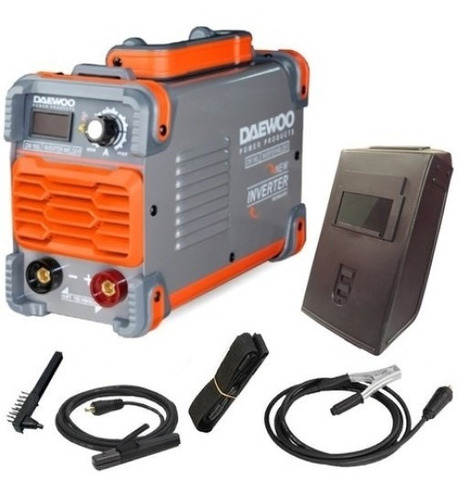 soldadora inverter 160 amp daewoo industrial display digital