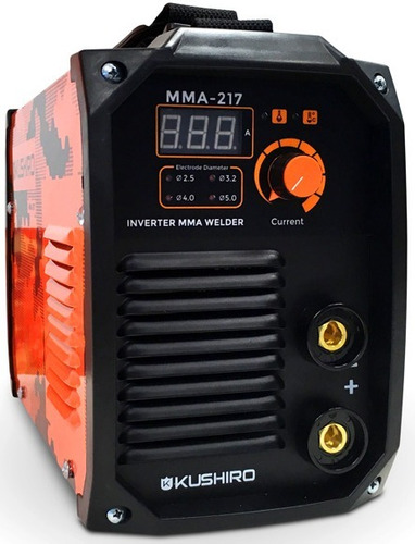 soldadora inverter 200 amp kushiro igbt easy weld digital