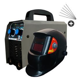 Soldadora Inverter 200 Amp Pro + Careta + Electrodos Pro