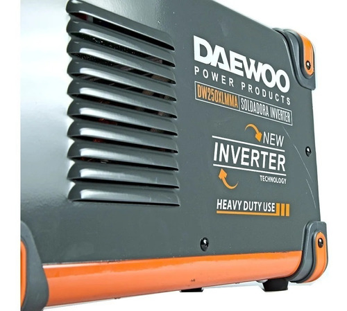 soldadora inverter 250 amp daewoo industrial display digital