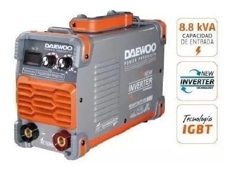 soldadora inverter 250 amp industrial daewoo display digital