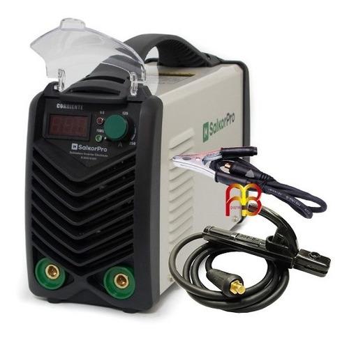 soldadora inverter 250 amp salkor profesional display digita