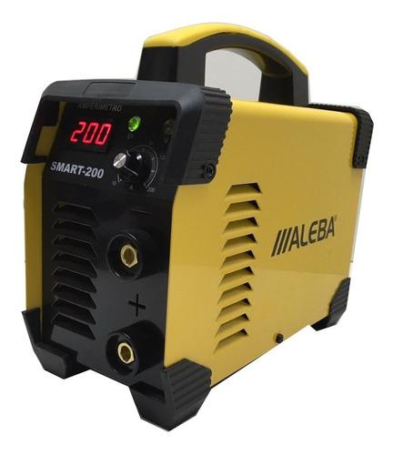 soldadora inverter aleba smart 200 amp 220v portatil