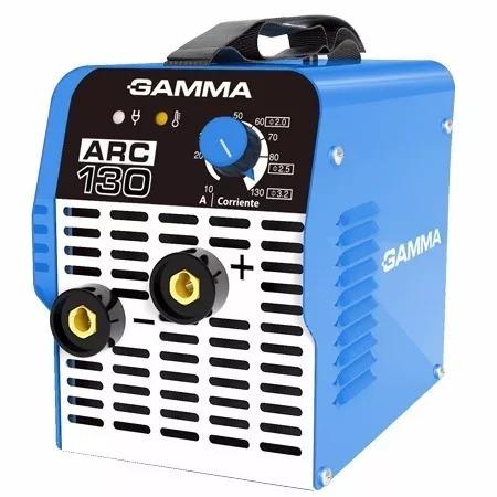 soldadora inverter arc130 gamma electrodos 1,6-3,2mm 130amp