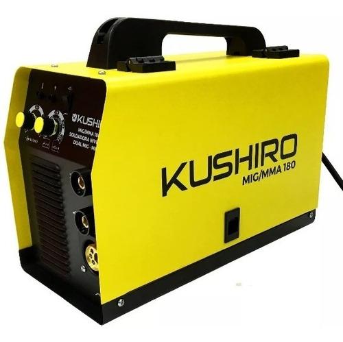 soldadora inverter combinada mig - mag/mma 180a kushiro